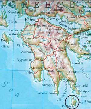 Insel Kythira
