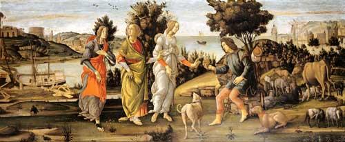 Sandro Botticelli | Urteil des Paris